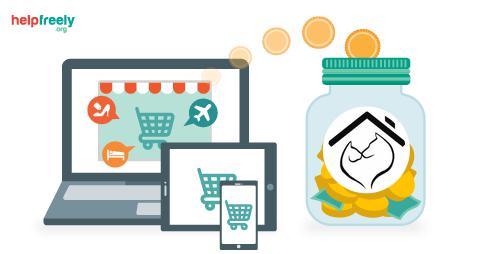 dona gratuitamente con tus compras online en leales.org/helpfreely